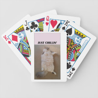 Just Chillin' Bicycle Playing Cards