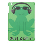 Just Chillin' Frog With Heads & Shades Case For The iPad Mini