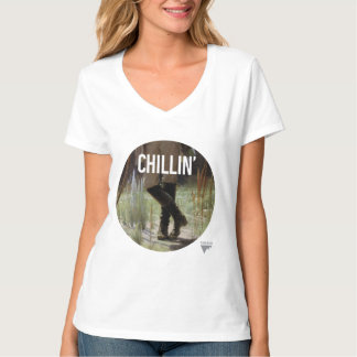 Just Chillin' in the meadow - Trendium Art Caption T-Shirt