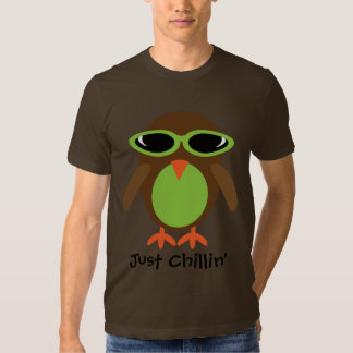 Just Chillin' Owl With Shades T-shirt