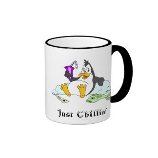 Just Chillin' Ringer Mug