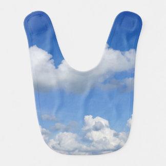 Just Clouds Baby Bib