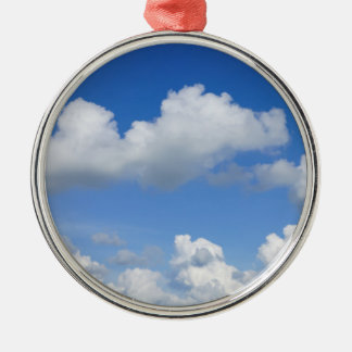 Just Clouds Metal Ornament