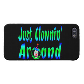 Just Clownin Around Case For iPhone SE/5/5s