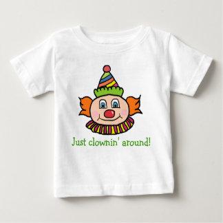 Just Clowning Around Cute Circus Clown Tshirt