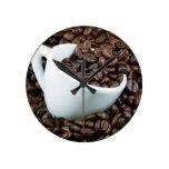 Just coffee round wallclocks