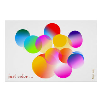 just color .... (Poster) Poster