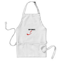 JUST COOK IT. - DADS MANLY APRON COLLECTION