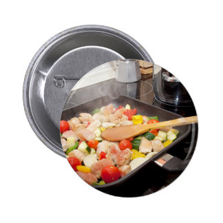 Just Cooking Meal Button