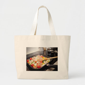 Just Cooking Meal Large Tote Bag