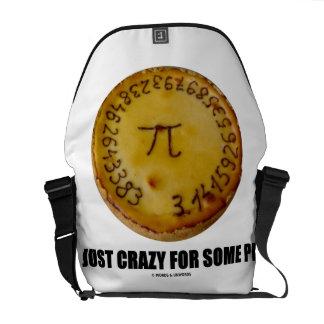 Just Crazy For Some Pi (Pi On A Pie) Courier Bag