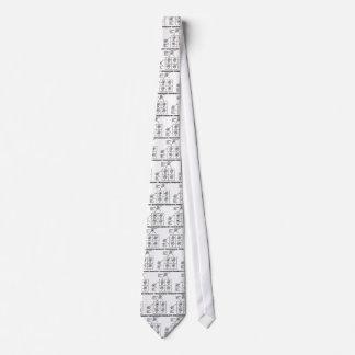 Just Crisscrossed Inside (Punnett Square Attitude) Neck Tie