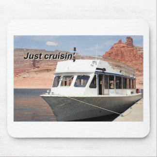Just cruisin', Canyon Odyssey Tour Boat Mouse Pad