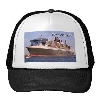 Just cruisin': cruise ship trucker hat