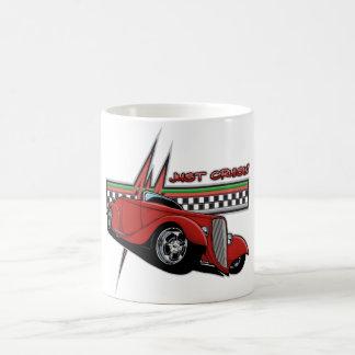 Just Cruisin Hot Rod Coffee Mug