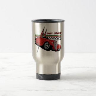Just Cruisin Hot Rod Travel Mug