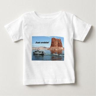 Just cruisin': Lake Powell houseboat, Arizona, USA Baby T-Shirt
