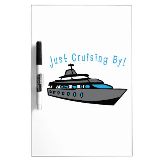 Just Cruising By! Dry-Erase Whiteboards