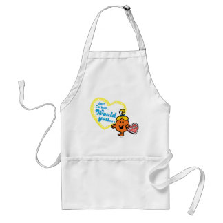 Just Curious Woud you be mine Apron