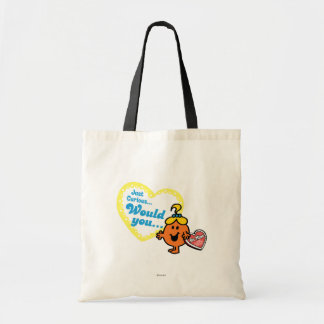 Just Curious Woud you be mine Tote Bag