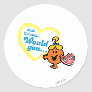 Just Curious Woud you be mine Stickers