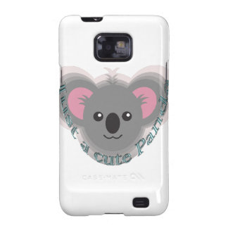 Just cute panda galaxy SII cases
