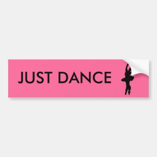 JUST DANCE CAR BUMPER STICKER