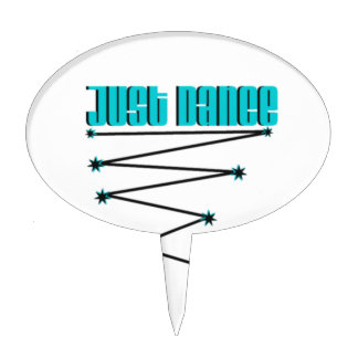 Just Dance Cake Topper