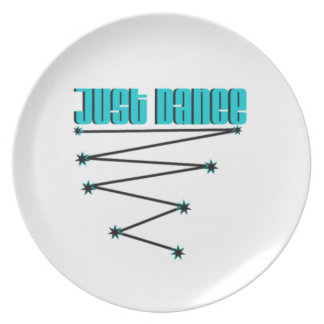 Just Dance Dinner Plate