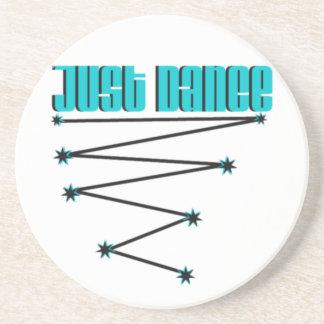 just dance drink coaster
