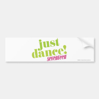 Just Dance - Green Bumper Sticker