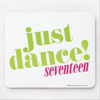 Just Dance - Green Mouse Pad
