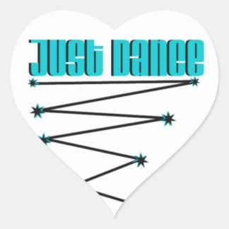 Just Dance Heart Sticker