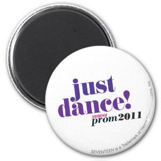 Just Dance - Purple 2 Inch Round Magnet