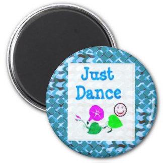 JUST Dance - Sparkle BLUE Diamond Base LOWPRICE Fridge Magnets