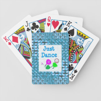 JUST Dance - Sparkle BLUE Diamond Base LOWPRICE Playing Cards