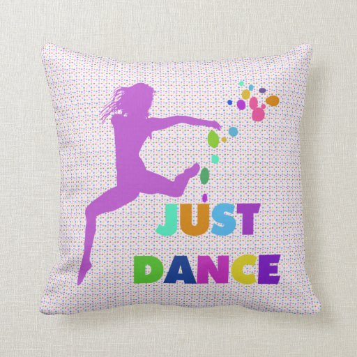 Just Dance Throw Pillow