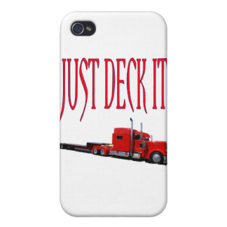 Just Deck It iPhone 4/4S Cases