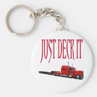 Just Deck It Keychain