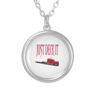 Just Deck It Silver Plated Necklace