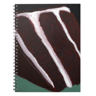 Just Dessert - Odd Abstract Cake Painting Notebook