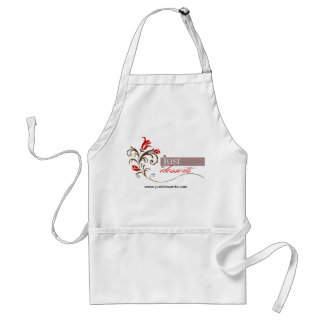 Just Desserts Cupcakes Promotional Branded Logo Adult Apron