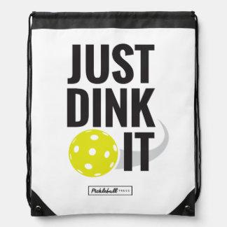 Just Dink It—drawstring bag Backpack
