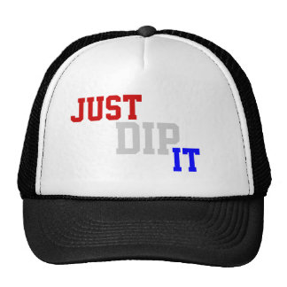 """""""Just Dip It"""" Red White & Blue Hat"""