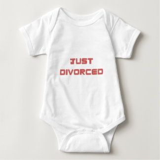Just Divorced Baby Bodysuit
