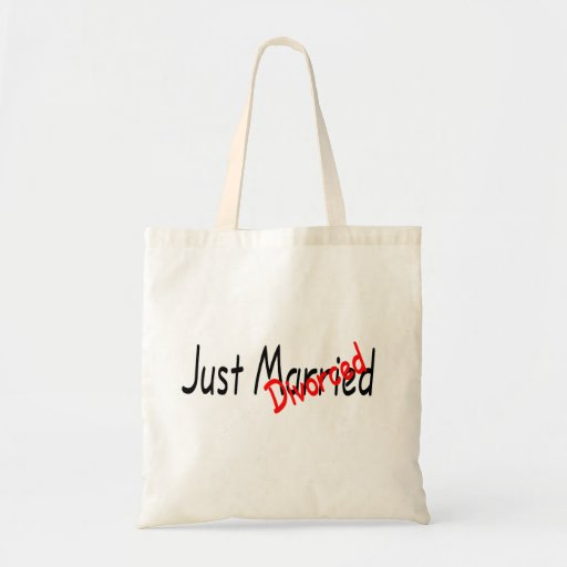 Just Divorced Canvas Bags