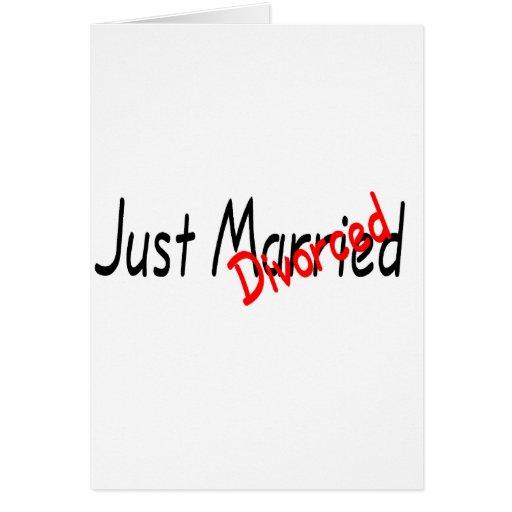 Just Divorced Cards
