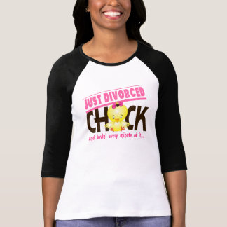Just Divorced Chick Shirts