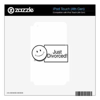 Just Divorced (happy face).jpg iPod Touch 4G Skin