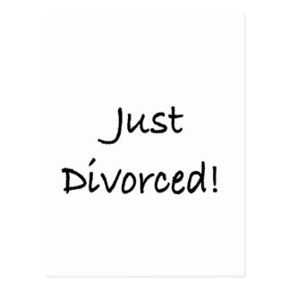 just divorced.png postcard
